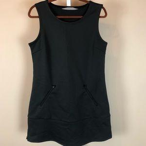 Athleta Black Athletic Dress (M)